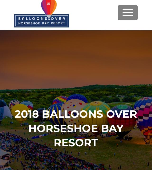 Horseshoe Bay Balloon Festival – March 31, 2018